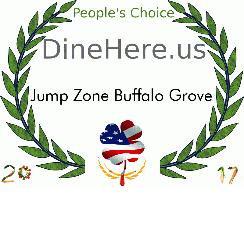 Jump Zone Buffalo Grove DineHere.us 2017 Award Winner